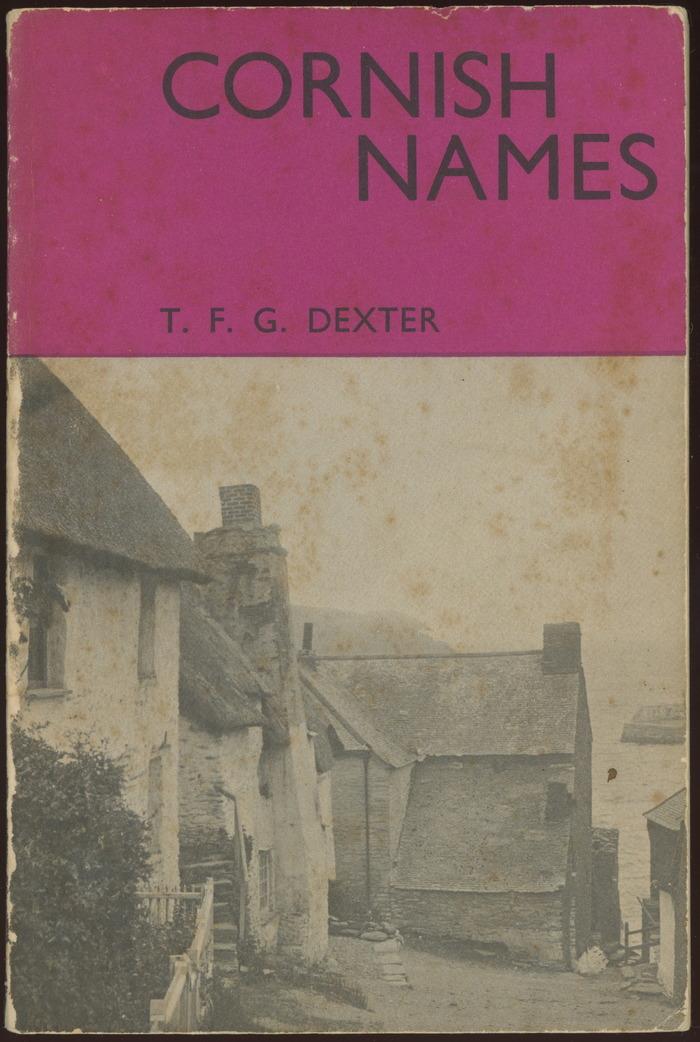 Cornish Names 1