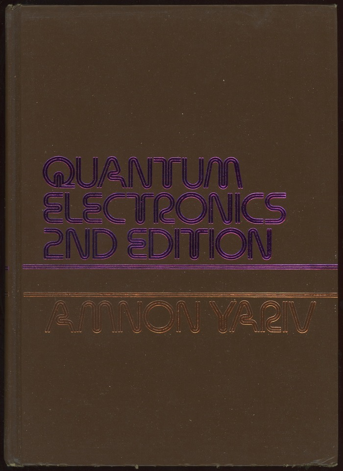 Quantum Electronics, 2nd Edition