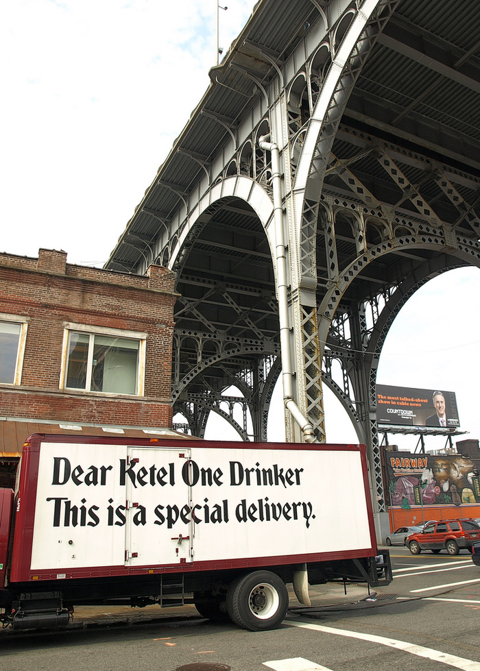 """Dear Ketel One Drinker"" Ad Campaign 2"