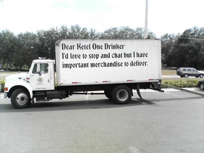 """""""Dear Ketel One Drinker"""" Ad Campaign 5"""