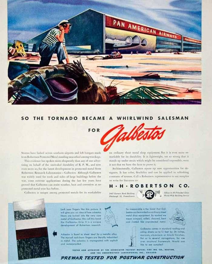 Galbestos Ads, 1945–49 2
