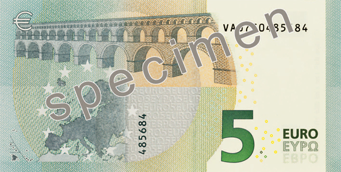 Euro banknotes (first & second series) 5