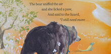 <cite>The Bear and her Book </cite>by Frances Tosdevin and Sophia O'Connor