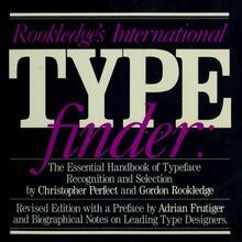 <cite>Rookledge's International Typefinder</cite> (1991 edition)