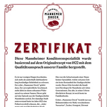 Mannemer Dreck certificate