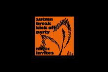 KABK Autumn Break Kick Off Party posters