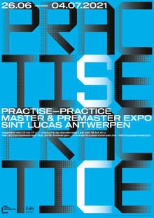 Sint Lucas Antwerpen exhibition posters (2021)