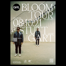 GiiRL – <cite>Bloom</cite> tour poster