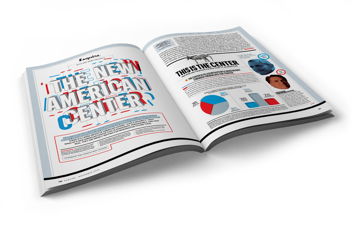 "Esquire: ""The New American Center"" 7"