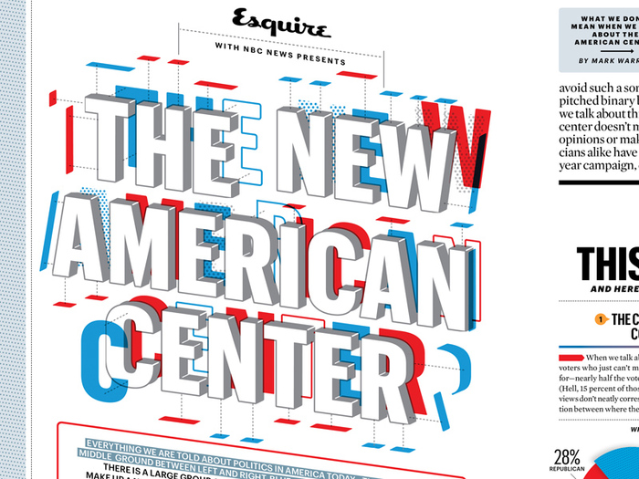 "Esquire: ""The New American Center"" 8"