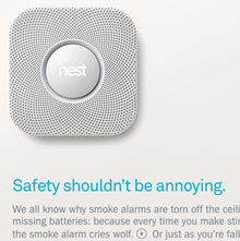 Nest Protect Website