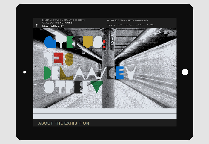 Collective Futures New York City Website 1