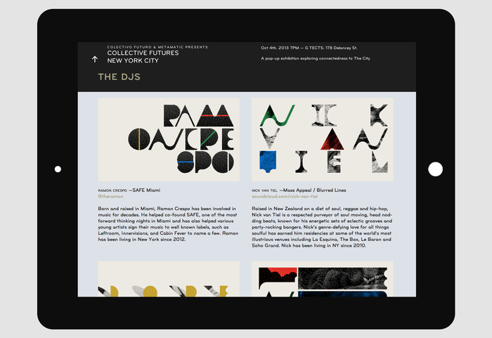 Collective Futures New York City Website 4