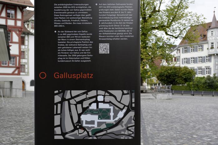 Gallusplatz signs 1
