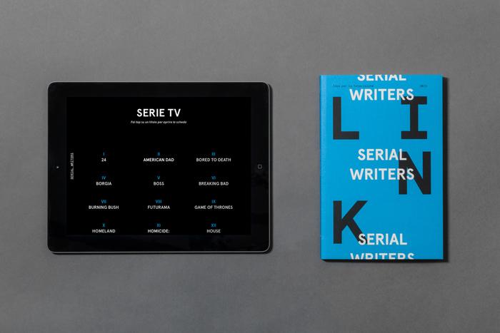 Link #15. Serial Writers. 9