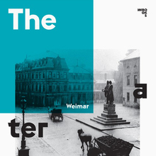 <cite>Weimar Theaterplatz</cite> by Steffen de Rudder (Ed.)