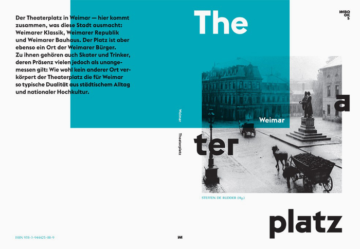 Weimar Theaterplatz by Steffen de Rudder (Ed.) 2
