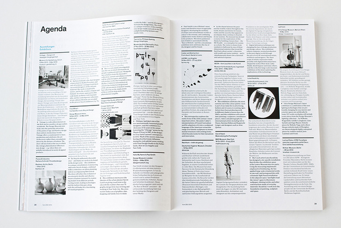 form Magazine, 2013 redesign 5