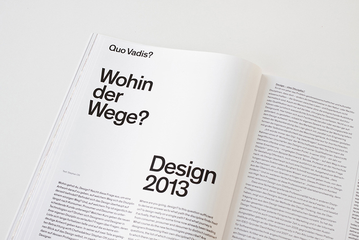 form Magazine, 2013 redesign 6