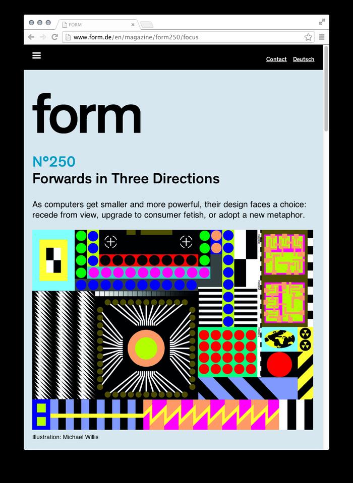 form Magazine Website 8
