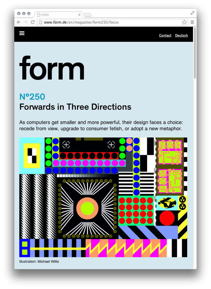 form Magazine Website 8