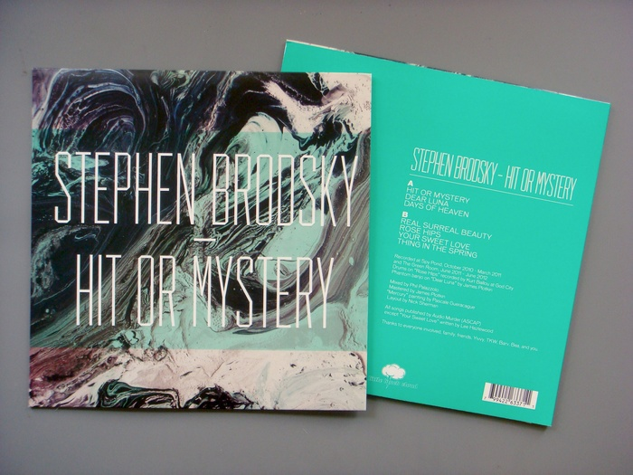 Stephen Brodsky – Hit Or Mystery album art 1