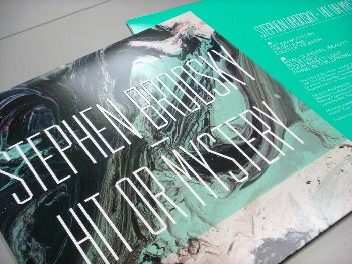 Stephen Brodsky – Hit Or Mystery album art 2