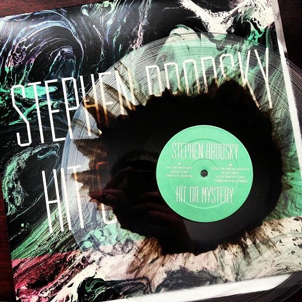 Stephen Brodsky – Hit Or Mystery album art 3