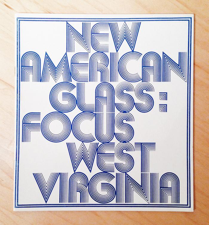 New American Glass: Focus West Virginia Exhibition 1