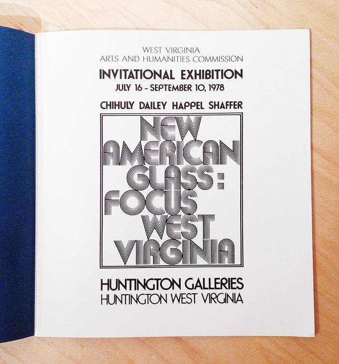 New American Glass: Focus West Virginia Exhibition 2