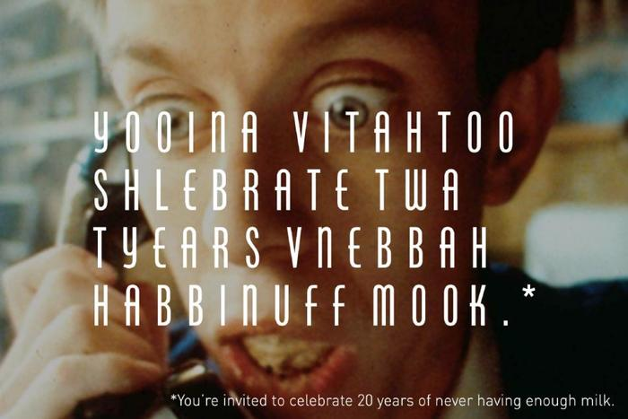"""Got Milk?"" Campaign, 20th Anniversary 2"