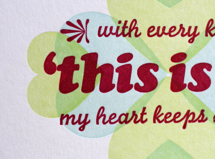"""""""This Is It"""" valentine card 1"""