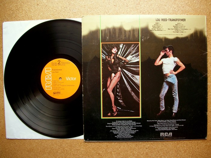 Lou Reed – Transformer album art 3