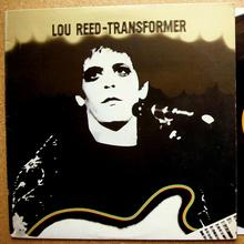 Lou Reed – <cite>Transformer</cite> album art