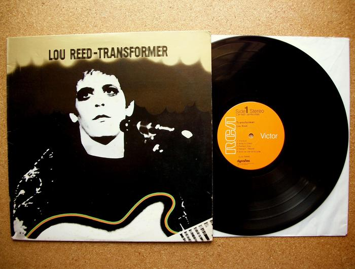 Lou Reed – Transformer album art 1