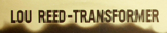 Lou Reed – Transformer album art 2