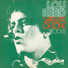 "Lou Reed – ""Satellite of Love"" / ""Vicious"" Dutch single sleeve"