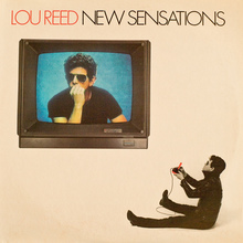Lou Reed – <cite>New Sensations</cite> album art
