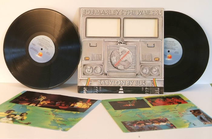 Bob Marley & the Wailers – Babylon By Bus album art 2