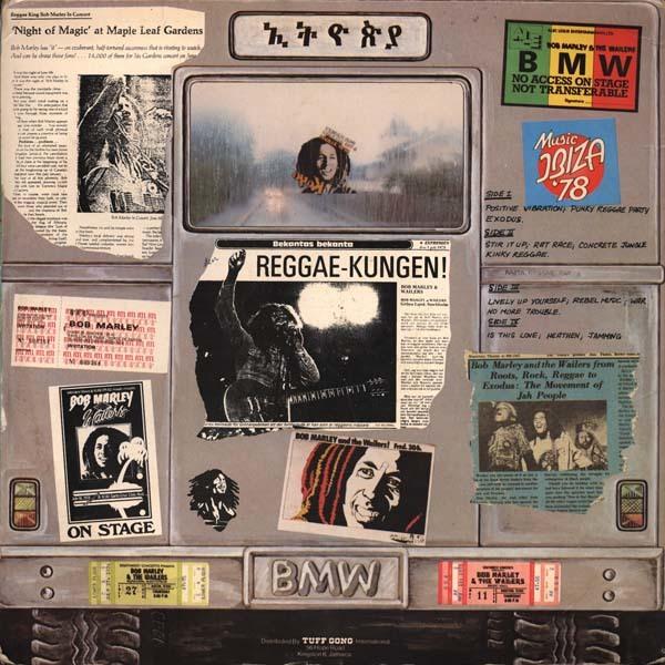 Bob Marley & the Wailers – Babylon By Bus album art 4
