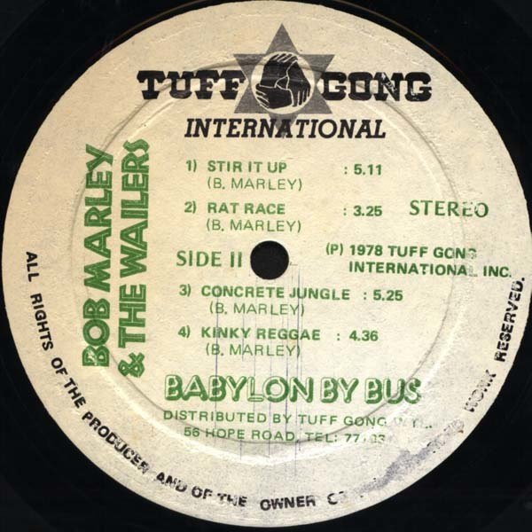 Babylon By Bus by Bob Marley & The Wailers 7