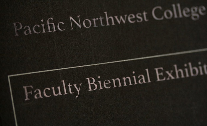 PNCA Faculty Biennal Exhibition 6