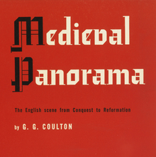 <cite>Medieval Panorama</cite> by G. G. Coulton, Meridian Books, 1955