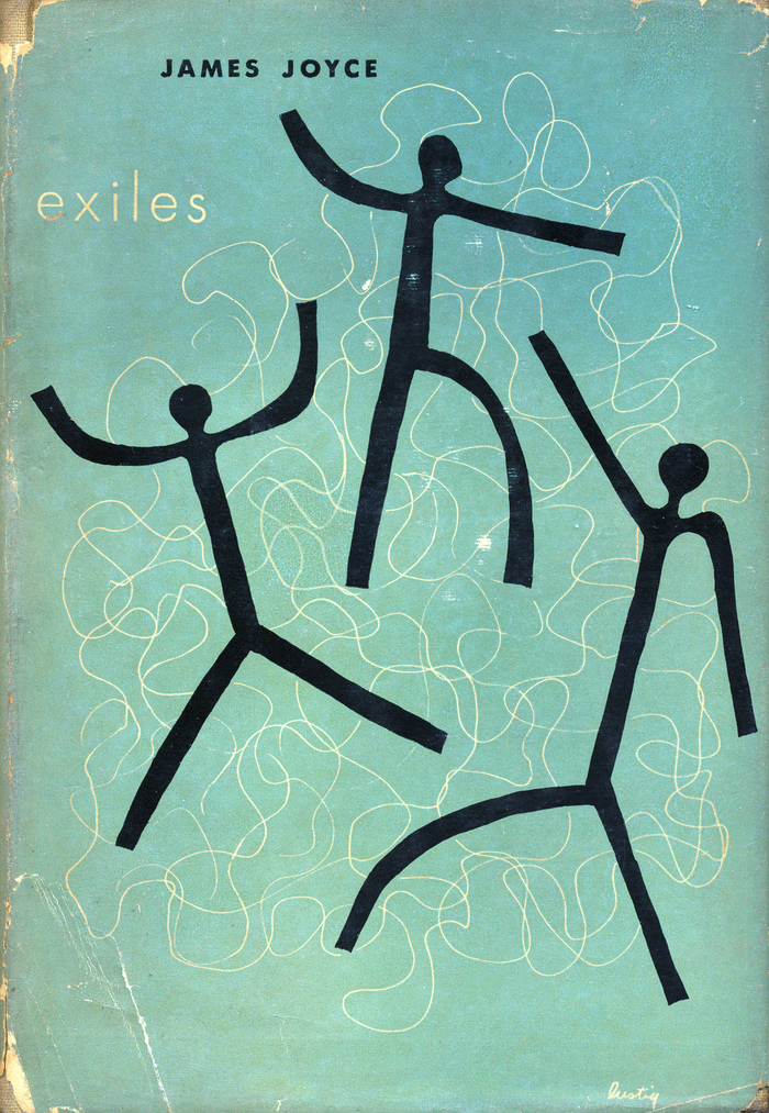Exiles by James Joyce, New Directions, 1947 3