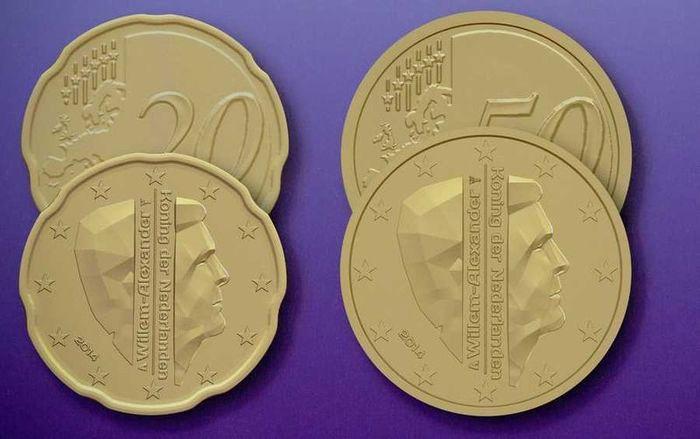 Dutch euro coins, 2014 1