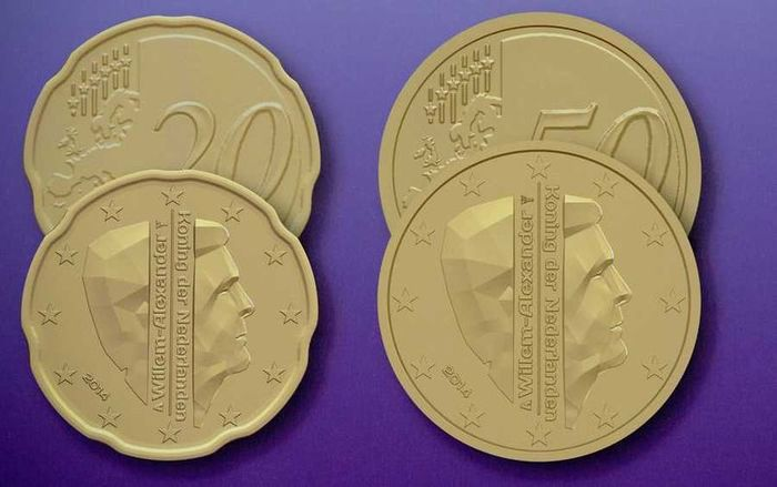 Dutch euro coins, 2014 1