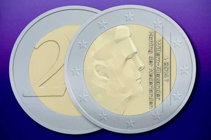 Dutch euro coins, 2014 2
