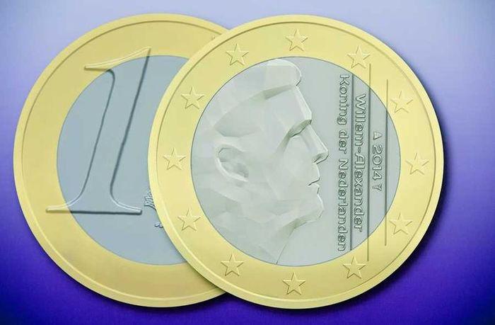 Dutch euro coins, 2014 3