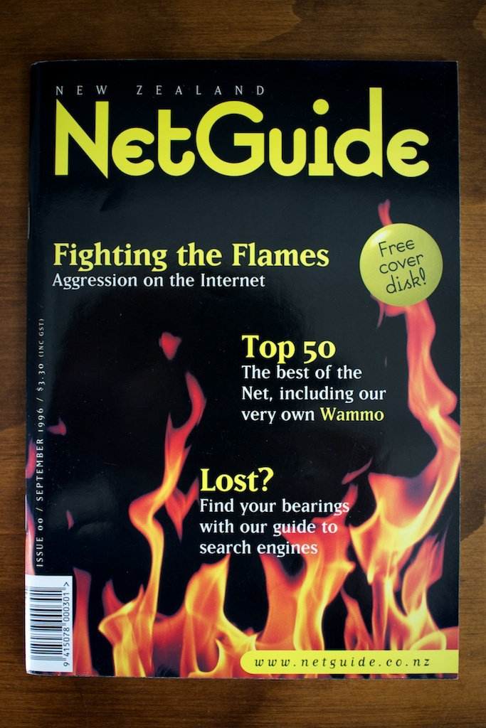 New Zealand NetGuide, Issue 00, Sept 1996 1