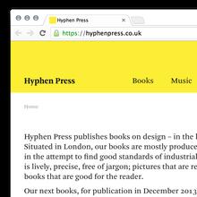 Hyphen Press Website
